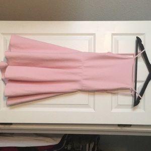 Lite pink skater dress